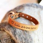 Bracelet Homme en cuir Naturel à personnaliser