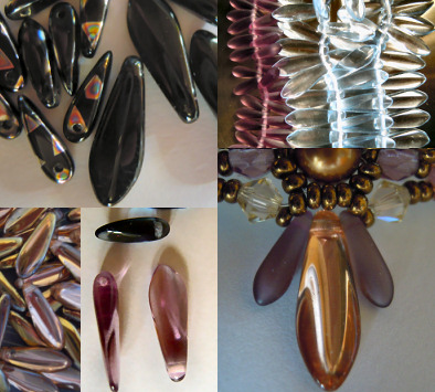 bijoux en perles dagues