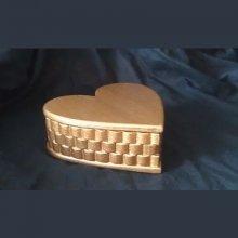 Boîte à trésor forme coeur