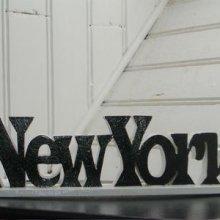 Porte Stylo original bois personnalisé 'New-York'