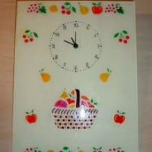 Horloge méli-mélo