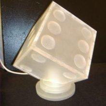 Lampe design 'Dé'