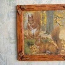 Tableau écureuils