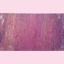 Peinture abstraite - Mauve doré