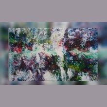 Peinture abstraite - Clair - Obscur