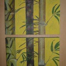 Branches de bambous