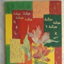 Tableau tulipe