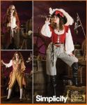 Patron costume pirate pour dame Simplicity